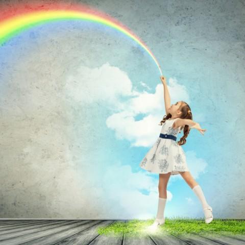 虹は何色ありますか? 七色ですか? その7つの色は何色ですか? 思い込みに注意! 私たちは見たいようにしか見えていない!