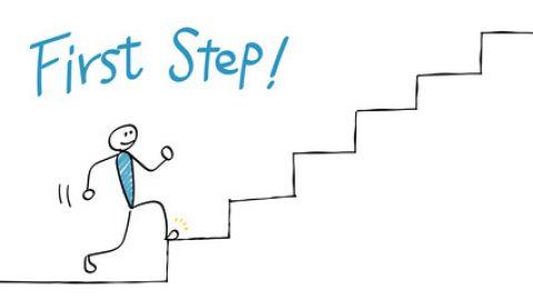 未来へ向けて 最も大切なこと・・・ それは、第一歩を踏み出すこと