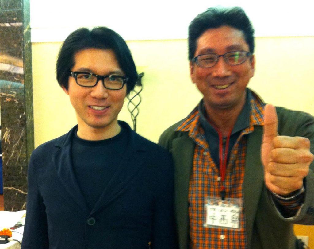 神田昌典さんとツーショット! 8年前、全脳思考マスターを直伝で学 ...